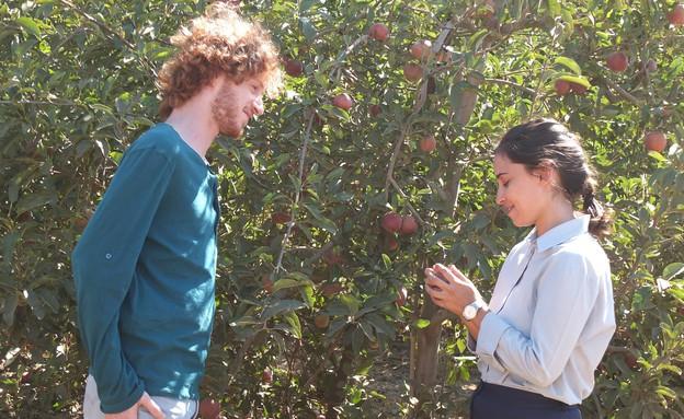 """אלישע בנאי ב""""תפוחים מן המדבר"""" (צילום: רונן נגל)"""