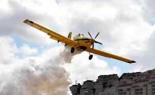"""טייסת הכיבוי של חיל האוויר (צילום: דובר צה""""ל, באדיבות גרעיני החיילים)"""