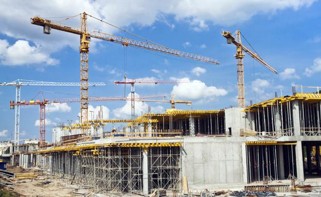 אתר בנייה (צילום: claraveritas, Thinkstock)