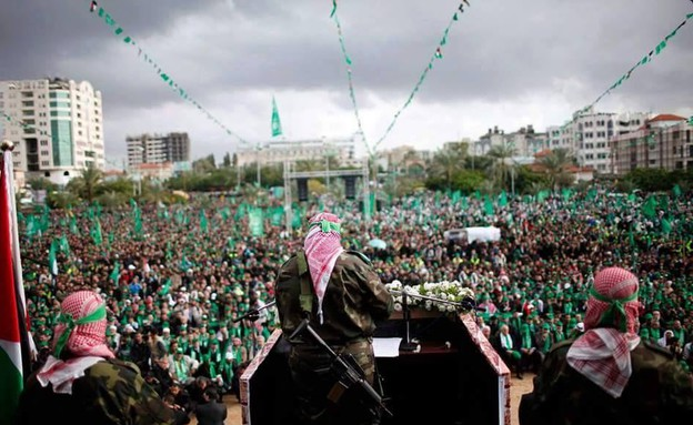 חמאס מתחזק (צילום: טוויטר)