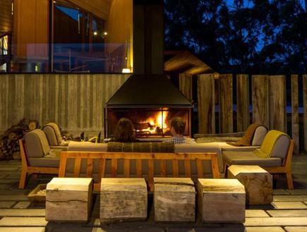 מלון על אי בצ'ילה (צילום: tierrahotels)