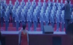 סין: הבמה קרסה - 80 זמרים נפלו (צילום: רויטרס)