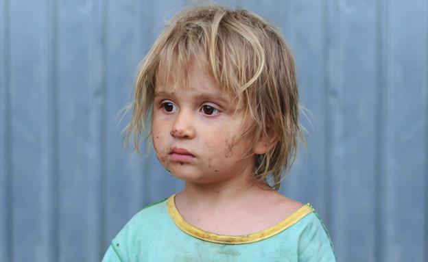 ילד מלוכלך  (צילום: אימג'בנק / Thinkstock)