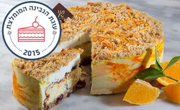 עוגת גבינה עם הדרים ומנטה של שני (צילום: אנטולי מיכאלו)
