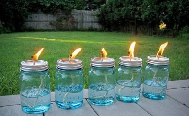 מוצרים נגד יתושים, עששיות דוחות יתושים (צילום: spaindex.com)