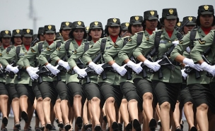 צבא אינדונזיה (צילום: Robertus Pudyanto, GettyImages IL)