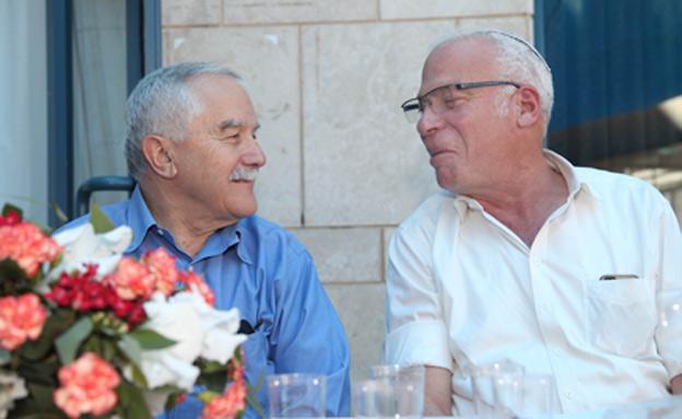 אריאל ושמיר, היום (צילום: גדעון מרקוביץ)
