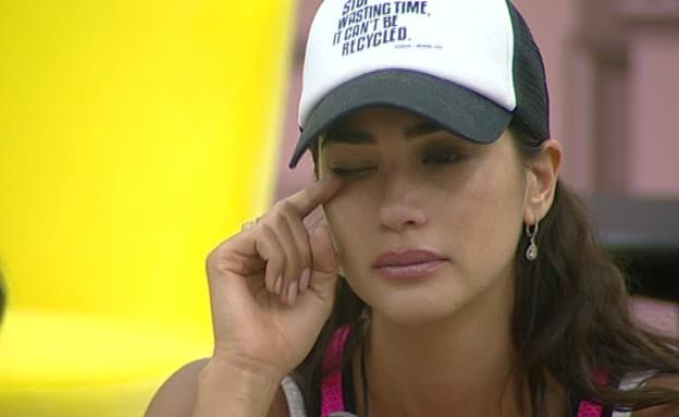 שיר בוכה (צילום: מתוך האח הגדול VIP, שידורי קשת)