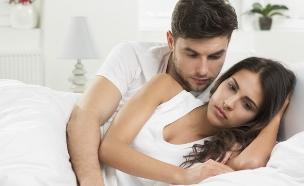 זוג במיטה (צילום: אימג'בנק / Thinkstock)