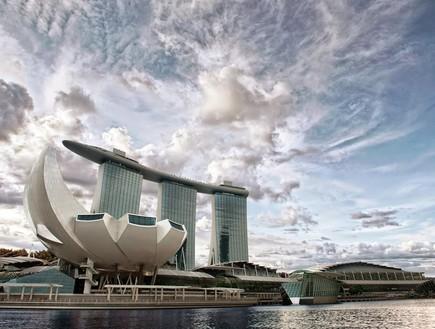 אתר נופש מרינה ביי סנדס, סינגפור.