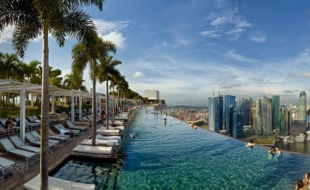 אתר נופש מרינה ביי סנדרס, סינגפור. (צילום: טימוטי הרסלי)