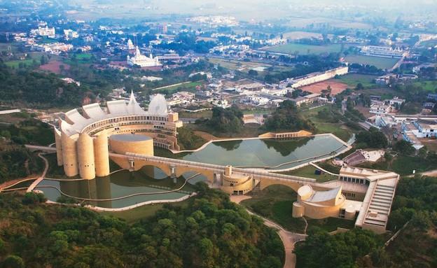 מרכז זכרון קלסה, הודו.  (צילום: מיכל רונן ספדי)