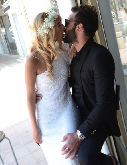 דנית ואליאב חתונה (צילום: אביב חופי)