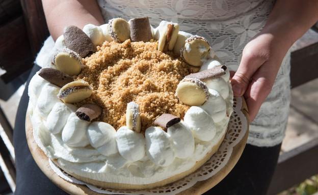 סעודה בגן עדן עוגת גבינה צפת (צילום: נמרוד סונדרס,  יחסי ציבור )