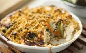 פשטידת לקט ירקות  (צילום: אפיק גבאי, אוכל טוב)