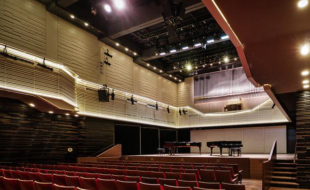 בתי הבראה, אלמא, אולם קונצרטים (צילום: איתי סיקולסקי)