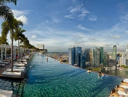 אתר נופש מרינה ביי סנדרס, סינגפור.