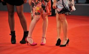נעלי עקב מחודדות על השטיח האדום (צילום: Christine Pettinger, GettyImages IL)
