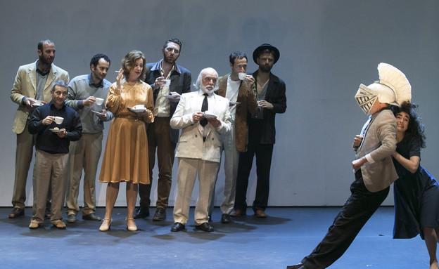 מאה הדברים הטובים בישראל - הצגה אליס  (צילום: דניאל קמינסקי)