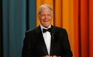 דייויד לטרמן בטקס פרסי הקומדיה 2011 (צילום: Dimitrios Kambouris, GettyImages IL)