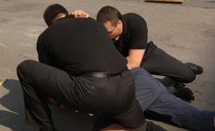 אלימות שוטרים (צילום: אימג'בנק / Thinkstock)
