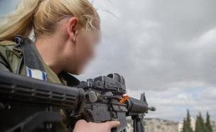 לוחמת בצהל (צילום: חטיבת דוברות המשטרה)