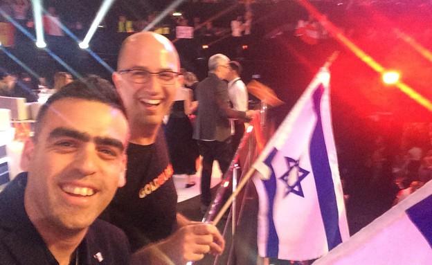 תמונות של הנבחרת הישראלית רגעים לפני הגמר (צילום: סיון יאנג,  יחסי ציבור )