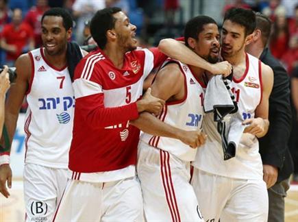ניצחון דרמטי, ירושלים בחצי (אלן שיבר) (צילום: ספורט 5)