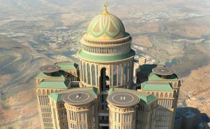 המלון הגדול בעולם (צילום: Dar Al-Handasah)