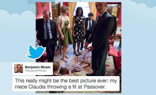 התמונה המדוברת של אובמה וקלאודיה