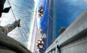 חילוץ אווירי מהים (צילום: אתר חיל האוויר)