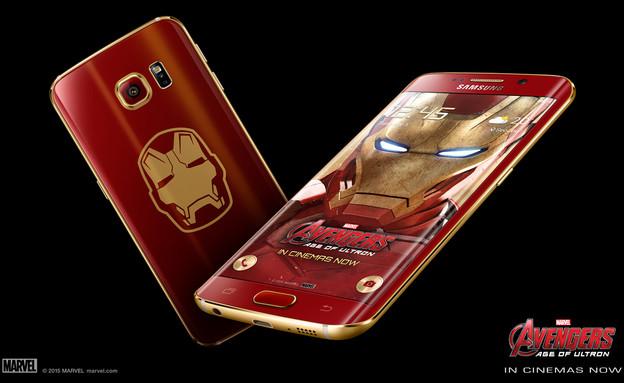 גרסת איירון מן לגלקסי S6 Edge (צילום: Samsung)