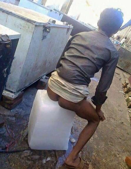 הודי מתקרר (צילום: קרן ארורה / טוויטר)
