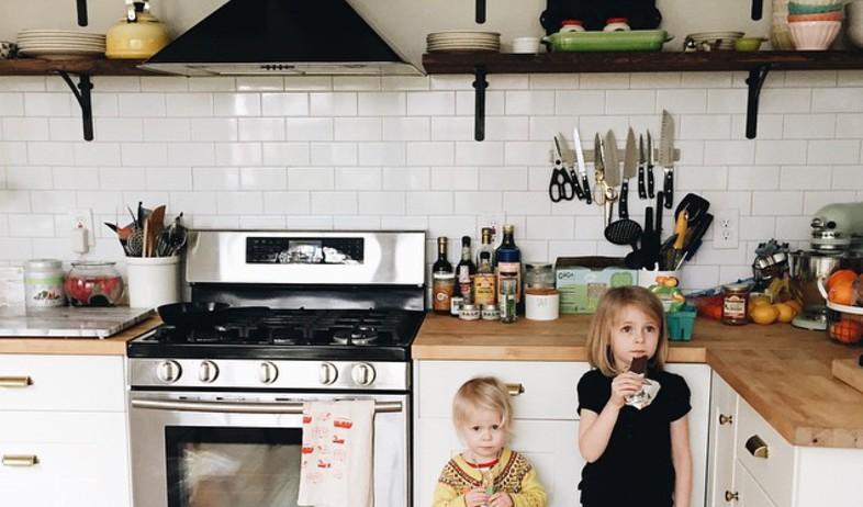 אינסטגרם, מטבח (צילום: מתוך האינסגרם של lesleywgraham)