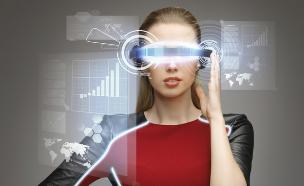 משקפיים עתידניים (צילום: אימג'בנק / Thinkstock)
