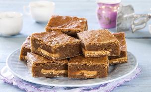 בלונדיז חמאה חומה ושוקולד לבן של נעמה גאון (צילום: אסף אמברם, אוכל טוב)