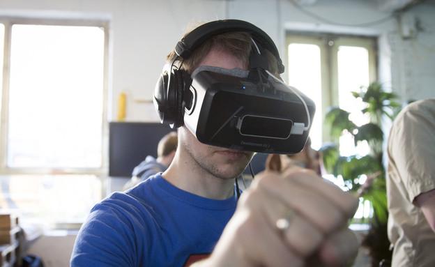 מציאות מדומה (צילום: אימג'בנק/GettyImages)