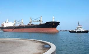 נמל חיפה, ארכיון (צילום: reuters)