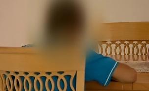 """""""משפיל שמשתמשים בשוטרים נגד ילד"""" (צילום: חדשות 2)"""