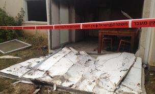 הבית בו אירע הפיצוץ (צילום: חדשות 2)
