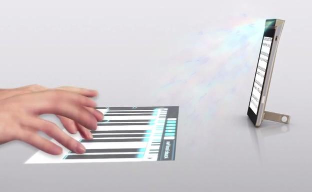 Lenovo Smart Cast, סמארטפון שהופך כל משטח למסך מגע (צילום: Lenovo)