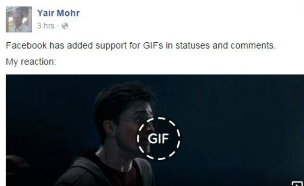 גיפים בפייסבוק