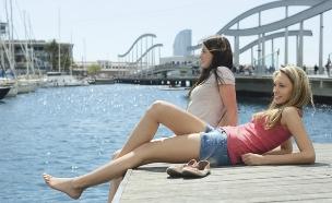 ברצלונה בנות (צילום: אימג'בנק / Thinkstock,  יחסי ציבור )