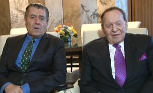 אדלסון וסבן, ריאיון מיוחד (צילום: חדשות 2)