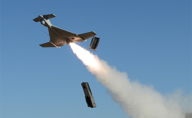 """צפו: המל""""ט המתאבד של התעשייה האווירית (צילום: התעשייה האווירית)"""