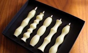 נרות יום הולדת 03, נרות יפניים אסתטיים (צילום: Nook, מרמלדה מרקט)