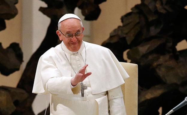 הכיר ברצח העם הארמני. האפיפיור פרנציסקוס (צילום: רויטרס)