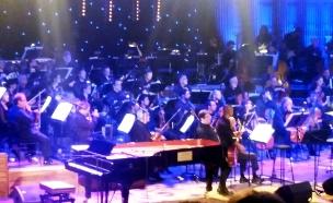 קונצרט יגאל בשן (צילום: חדשות 2)