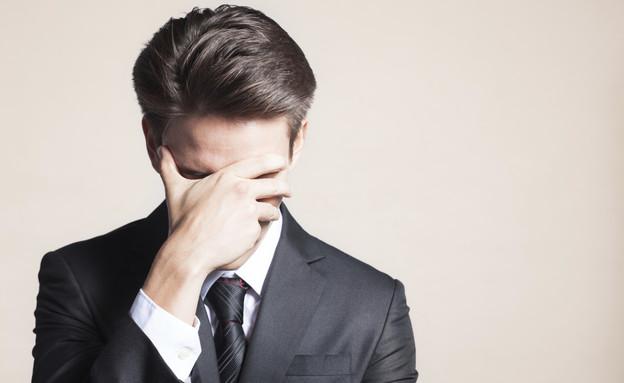גבר מתבייש (צילום: אימג'בנק / Thinkstock)