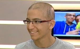 בר בן ה-17 נאבק בסרטן בפעם השלישית (צילום: מתוך הבוקר של קשת, שידורי קשת)